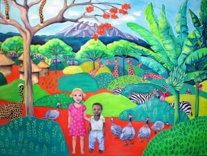 Afrikansk landsby