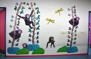 LisW.Herlev Børnemodtagelse. chimpanser