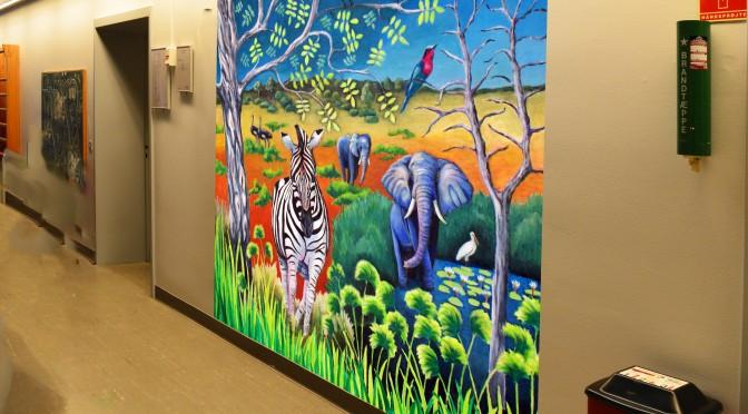 væg med savanne b