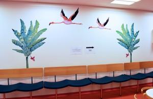 LisW. Herlev børnemodtagelseflyvende flamingoer