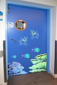 Blå dør koralrev